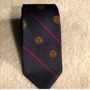 Vintage US customs treasury department men's tie